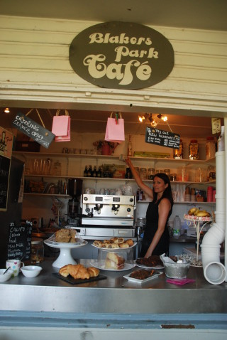 Dishy's Café in Blakers Park