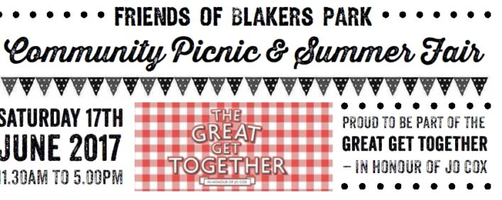 Save the date Blakers Picnic 2017