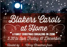 Blakers Carols at Home with Music Mike 2020